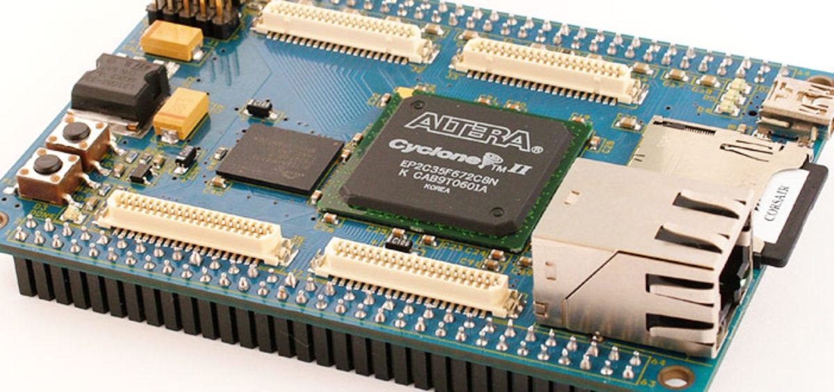 Talking RS-232 with Cyclone II FPGA, Part 1   Hardware, Software