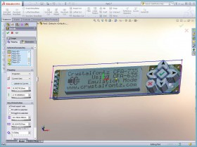 SolidWorks Decal Projection