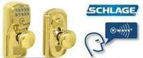 schlage lock z-wave