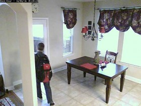 DVR triggered by Vera Home Automation System.